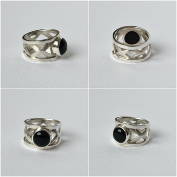 Onyx ring by HolsteinFreestyler