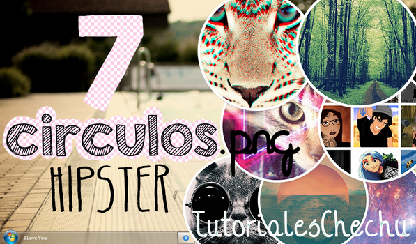 7 Circulos Hipster by TutorialesChechu by TutorialesChechu