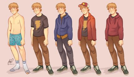 Lawrence - Character Chart by Danger-Jazz