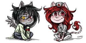 Buttons for Shikilusion by skyrore1999