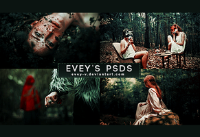 PSD #309 - Running With The Wolves by Evey-V