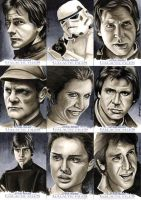 Star Wars: Galactic Files #1 by SSwanger