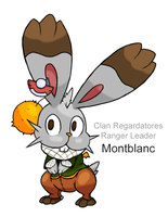 Pokemon BW3: Montblanc the Bunnelby