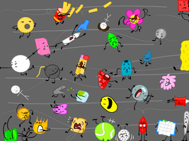 If BFDI had a Hurricane by SomeMiiGunner