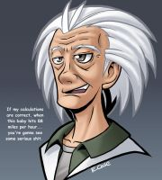 Doc Brown by rongs1234
