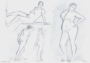 Life drawing 15-12-2015 by snow-j