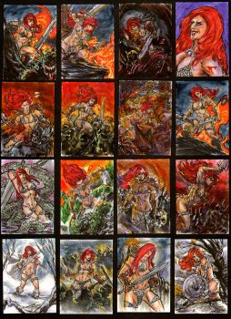 Red Sonja from Breygent by brokenluk