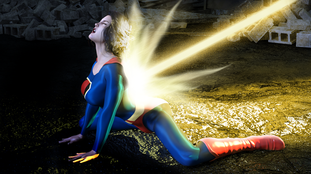 Fleischer Superwoman - On hands and knees by rustedpeaces