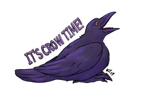 Crowtime by kytri