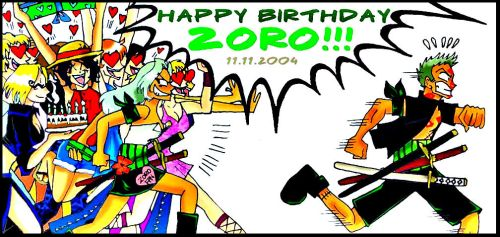 everyone loves Zoro by VRikilopez