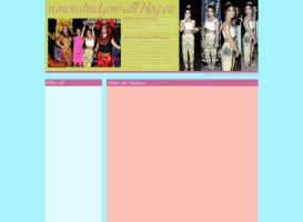Ordered layout - Vanessa Hudgens by JulieKrocova