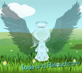 Angel Gwendolyn by CodeAndReload