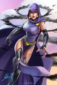 Cryptozoic-DC-RAVEN by Axigan