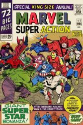 Marvel Super Action Annual #1 (imaginary comic) by Bispro