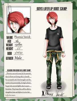 BL Boot Camp Applicant: Phoenix Varick by FailedMonster