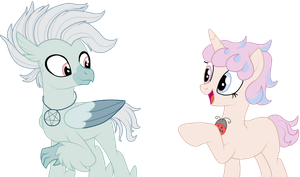 Pastel Hippogriff and Unicorn adopts- CLOSED by DamagedGamer