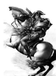 Napoleon Crossing the Alps by Dead-Beat-Nick