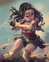 WonderWoman by Ardila