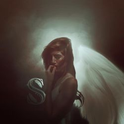 Angel-confused-1 by SalmanAboFaisal