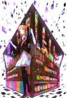 The candy Store by Ponchiux