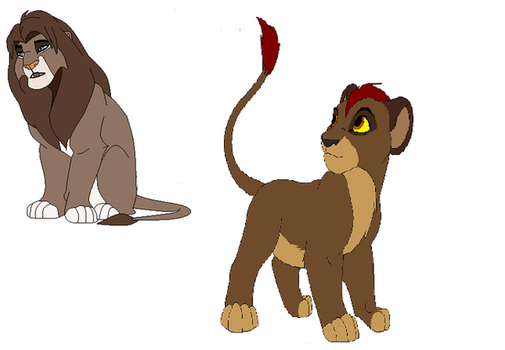 new adopted ones Kamau and Caramel by Teazerkitt