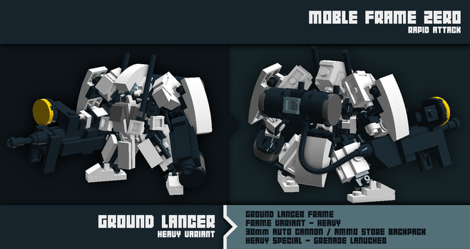 MFZ Ground Lancer Heavy by Xeno-striker