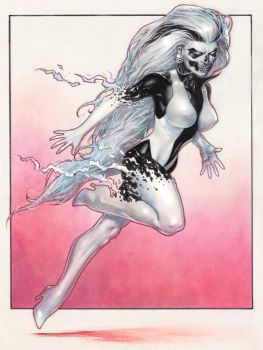 Silver Banshee by Reverie-drawingly