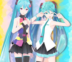 10th Anniversary Miku Set [DL] by maydayfireball