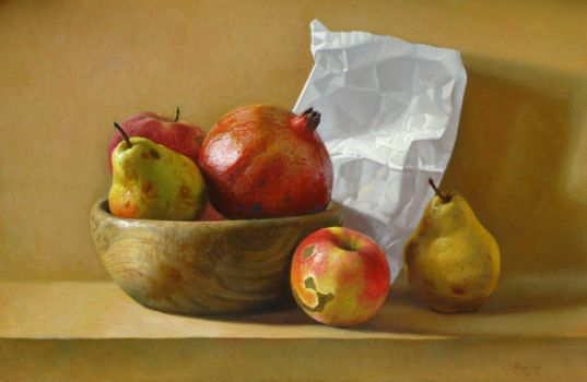 Still-Life With Fruits by andrianart