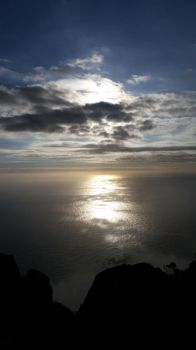 Sunset View From Table Mountain by kgwriter
