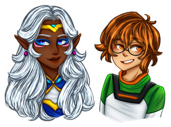 voltron girls by withwingsthatfly