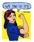 We can do it! by Inkstandy