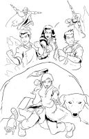 Legend of Korra Lines by DanielHooker