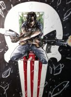 Punisher by steven-donegani