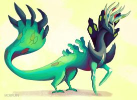yveltal zygarde xerneas by mdbruin