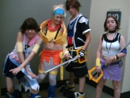 Otakon 2007 - Kingdom Hearts by InkkyFikky