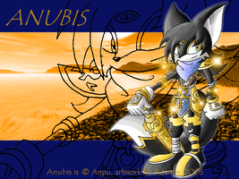 Gift: Anubis the egyptian god by ThePandamis