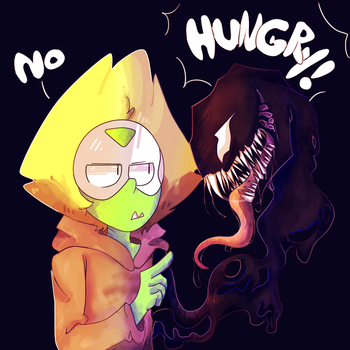 Hungry! -Venom Crossover by ZaneNidroin