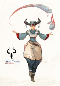 Ling Yang by AngHuiQing