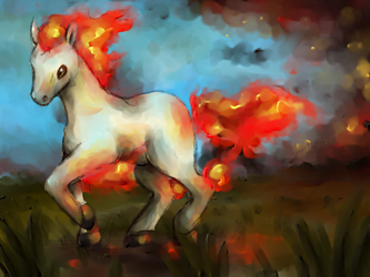 TVP: Ponyta by Frozen-Wing