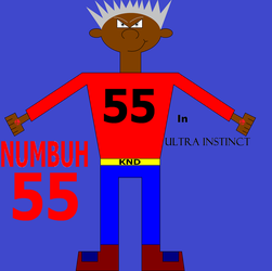 Numbuh 55 In Ultra Instinct by Flame-dragon