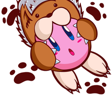 Animal Kirby by itsscarfy
