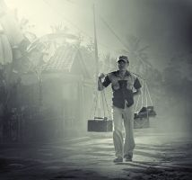 The Worker by greatanin