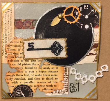 Steampunk Chunky with a twist by ParadoxSketchbook