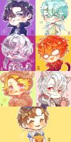 Mystic Messenger Halloween RFA by Soverrein
