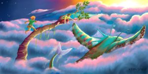 The sky is fun by krisagon