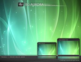 BG aurora wallpaper by darpan-aero