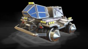 TESH-driven amphibian vehicle by Dlordtesh