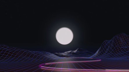 Synthwave by AxiomDesign