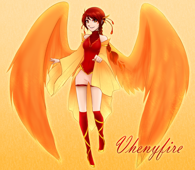 Vhenyfire 2nd Design Persona by Vhenyfire